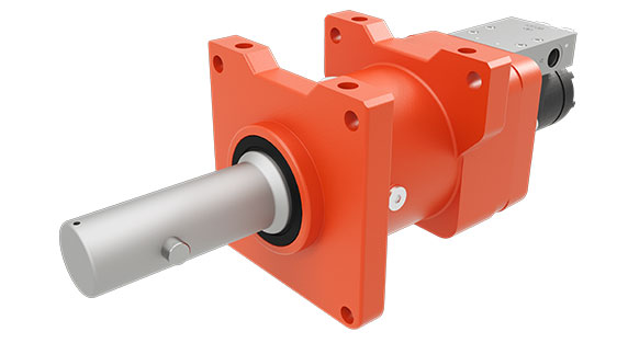 dp Winch 13CDUCBC1B Bumper winch and capstan for the utility industry on a white background