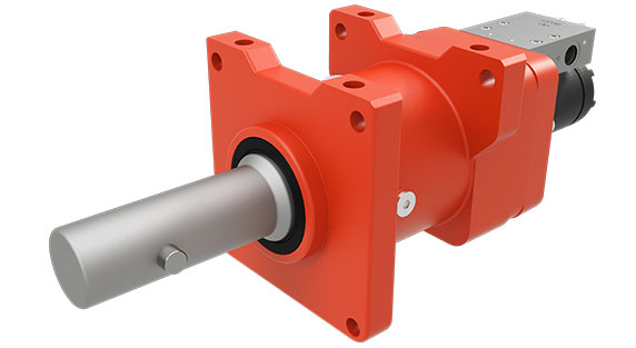 dp Winch 16CDUCBC1B Bumper winch and capstan for the utility industry on a white background