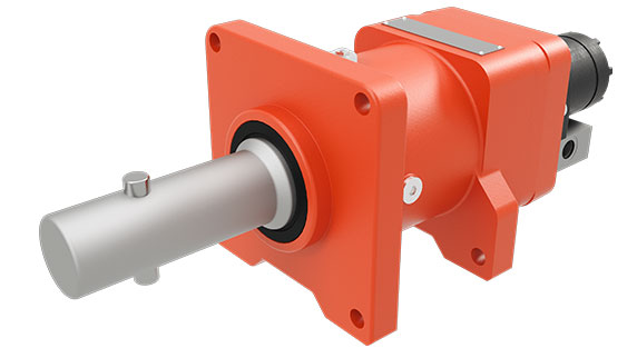 dp Winch 24CDUCBC12 Bumper winch and capstan for the utility industry on a white background