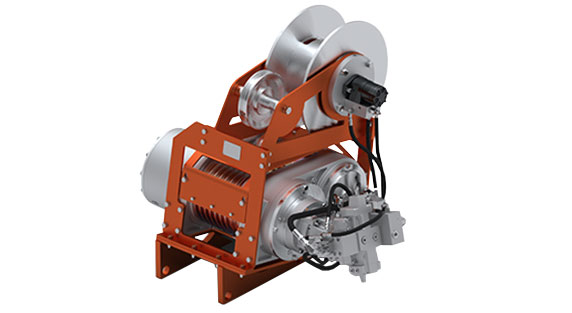dp Winch Traction Winch on a white background.